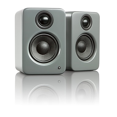 Kanto YU2 Powered Desktop Speakers, Matte Grey