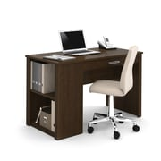 BESTAR Acton workstation with utility drawer & storage, Tuxedo