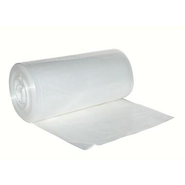 Berry PlasticsMC – Sac poubelle ordinaire en polyéthylène biodégradable de 26 x 36 po, 0,65 mil, transparent, 250/boîte