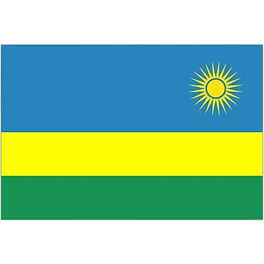 International Flag, Rwanda, 36