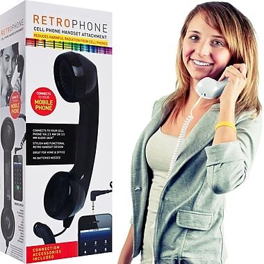 ThrowBack 72-5505 Retro Cell Phone Handset, White