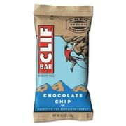 Clif® Bar Chocolate Chip Energy Bar, 2.4 oz., 12 Bars/Box