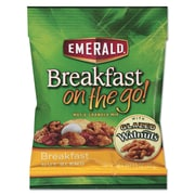 Emerald® Breakfast on the go! Breakfast Nut Blend, 8/Box