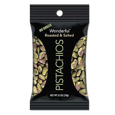 Paramount Farms® Dry Roasted & Salted Wonderful Pistachios, 8/Box