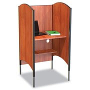 BALT® Height-Adjustable Carrel, High-Pressure Laminate, Cherry (90294)