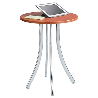 Safco®, Decori Wood Side Table, Round, 25-3/4