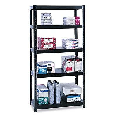 Safco® Boltless Shelving, 5-Shelf, 72