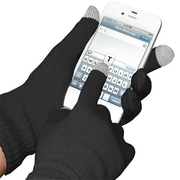 Amzer ® AMZ92804 Woven Knit Gloves for Touchscreen Device, Black