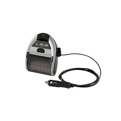Zebra® AK-18356-2 12 VDC Auto Adapter For Mobile Printer