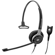 Sennheiser Century SC 660 Permium Stereo Headset With Microphone, Black/Silver