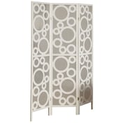 "Monarch Wood 70.25""H x 52""W x 0.75""D Folding Screen"