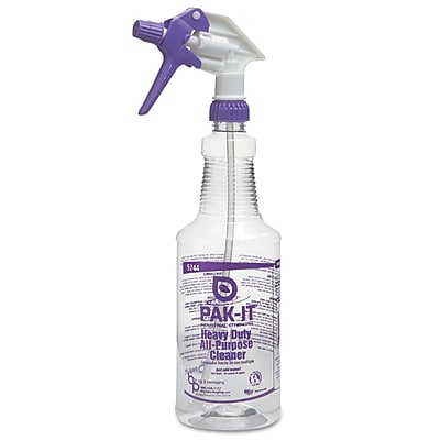PAK-IT Botlle With Trigger 32Oz Trigger Spray Purple