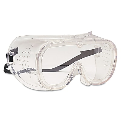 Bouton® BASIC-DV™ 440 Safety Goggles, Clear/Clear, Polycarbonate Lens, Vinyl Frame