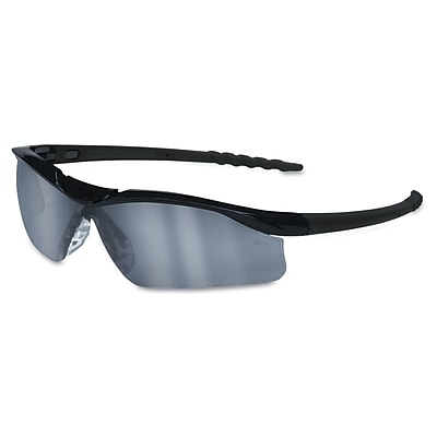 Crews DALLAS Wraparound Safety Glasses Black/Clear