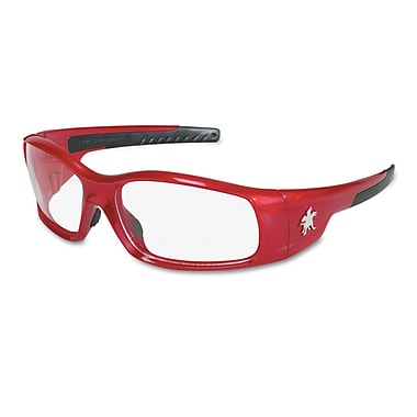 Crews Swagger Brash Look Polycarbonate Dual Lens Glasses Safety Glasses Red / Clear
