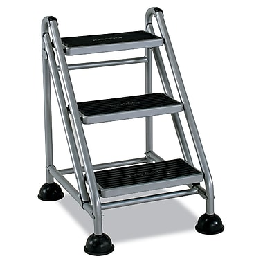 cosco rolling commercial step stool 3step - Step Stool