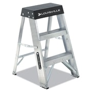 Louisville Aluminum Step Stool Aluminum / Black