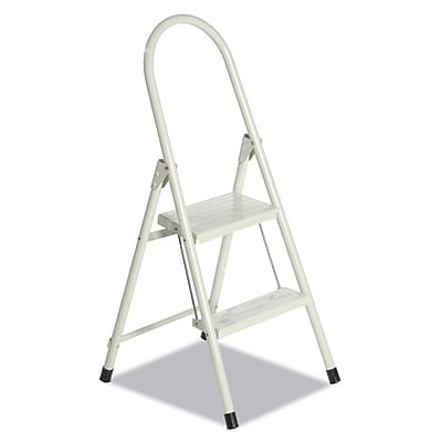 Louisville® Steel Qwik Step™ Platform Ladder, 2.0 ft, Folding Step Stool (L4341-02)