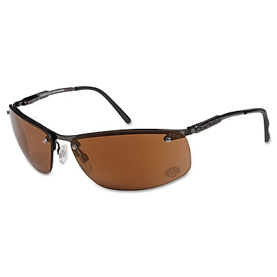 Harley-Davidson® HD 700 Dual Lens Safety Glasses, Brown Mirror