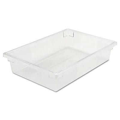 Rubbermaid® 3308 Food/Tote Box, 8 1/2 gal, 26