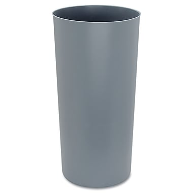 Rubbermaid® Commercial Rigid Liner With Rim For 8170-88, 8180-88, 8182-88 Containers, Gray, 22 gal