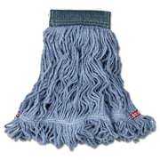Rubbermaid Commercial Web Foot Wet Mops Blue