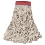 Rubbermaid Commercial Swinger Loop Wet Mop Head White