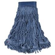 Rubbermaid Commercial Swinger Loop Wet Mop Heads Blue