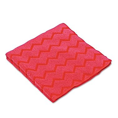 Rubbermaid Commercial General Purpose Micro Fiber Cloth Red