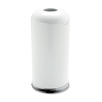 Rubbermaid Commercial Hands-Free Open Top Waste Receptacle White