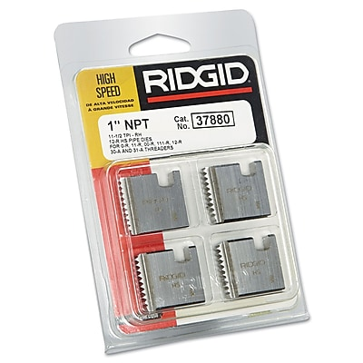 Ridgid® 12-R High Speed Steel Manual Replacement Threading/Pipe Die, 1-11 1/2 NPT