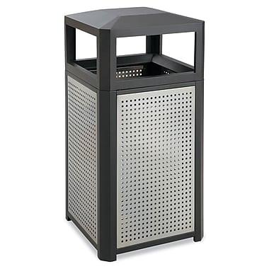 Safco Evos Series Steel Bins 38-Gallon Black