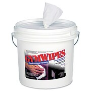 2XL Chemicals Antibacterial Gym Wipes White, 700 Wipes/Bucket, 2 Buckets/Case