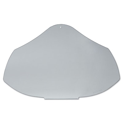 Bionic® Clear Polycarbonate Face Shield Visor, 9 1/2 in (H) x 14 1/4 in (W) x 0.04 in (T)