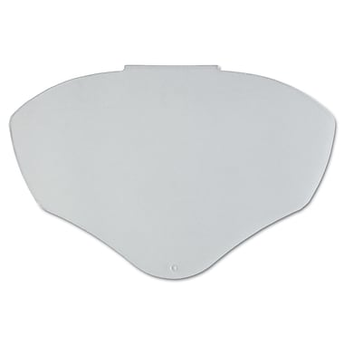 Bionic® Clear AF Polycarbonate Face Shield Visor, 9 1/2 in (H) x 14 1/4 in (W) x 0.04 in (T)