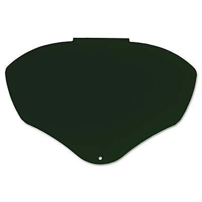 Bionic® Polycarbonate Replacement Face Shield Visor, 9 1/2 in (H) x 14 1/4 in (W) x 0.04 in (T)