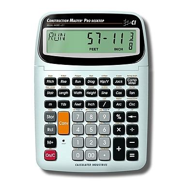 Calculated Industries – Calculatrice de table trigonométrique Construction Master® Pro 44080