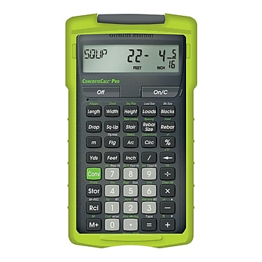 Calculated Industries - Calculatrice de construction ConcreteCalc™ Pro 4225