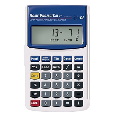 Calculated Industries - Calculatrice Home ProjectCalc® 8510