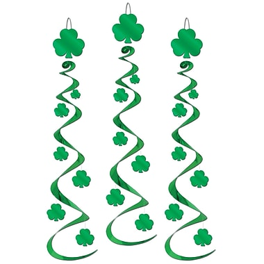 Beistle Shamrock Whirls, 30