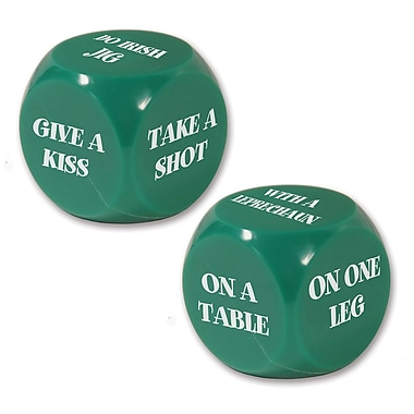 Beistle St Patrick Decision Dice Game, 10/Pack