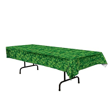 Beistle Shamrock Table Cover, 54