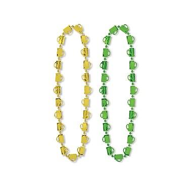 Beistle St Patrick Mug Beads Necklace, 33