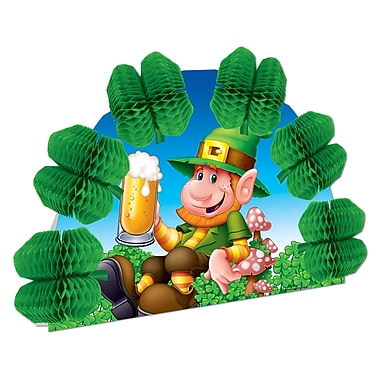 Beistle Leprechaun Pop-Over Centerpiece, 10