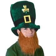 Beistle – Chapeau de farfadet en peluche avec barbe