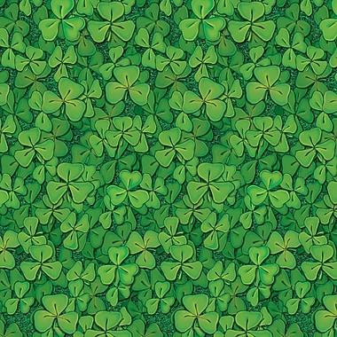 Beistle Clover Field Backdrop, 4' x 30'