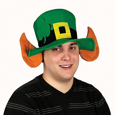 Beistle Felt Leprechaun Hat With Ears, 2/Pack