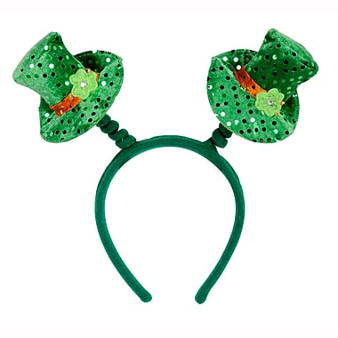 Beistle Leprechaun Hat Boppers, 3/Pack