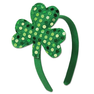 Beistle Shamrock Headband, 5/Pack