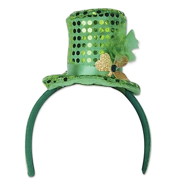Beistle Leprechaun Hat Headband, 3/Pack